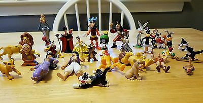 ❤WB LOONEY TUNES Applause 25 Figures PVC LOT RARE Set Cake Toppers, Disney UEC