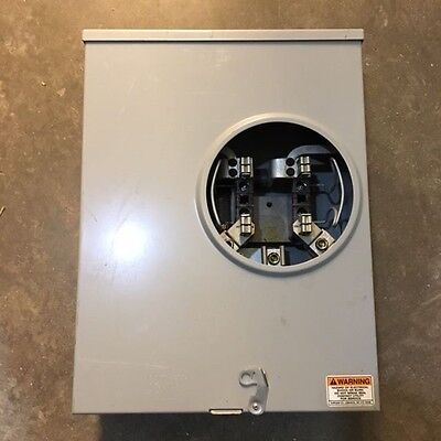 Cutler Hammer Meter Base UHT-RS233C-CH, single phase, 200 amp