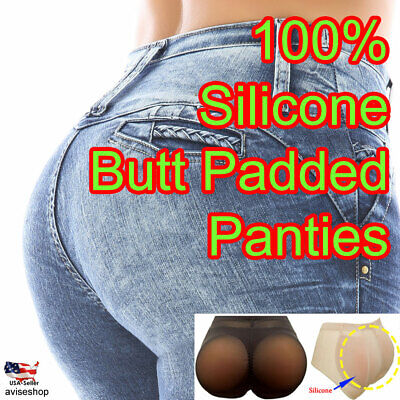 BUTT Silicone Butt Pads buttock Enhancer body Shaper Brief  Panty Tummy Control