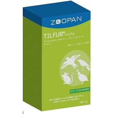 Pigeon Product -  Tilfur - Tilosine 6% - by Zoopan - for Racing Pigeons