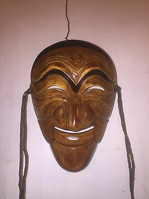 Mask Chinese theater High Detailed elm or teak Wood.9Pix4details&Size.MAKE OFFER