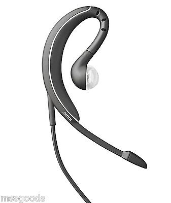 New Jabra Wave Corded Cell Phone Headset 3 5mm Wind Noise