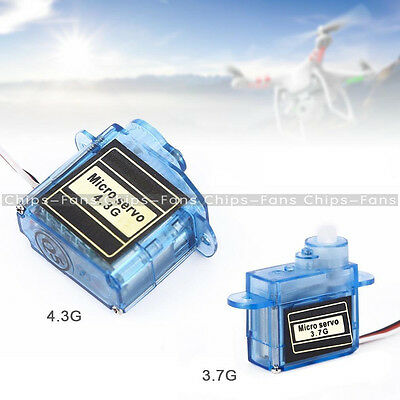 New Mini Micro Servo 3.7g or 4.3g for Aeromodelling flight direction control