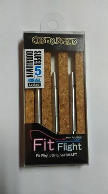 COSMO FIT SUPER DURALUMIN NORMAL LOCKED #5 SHAFTS 31mm  FOR FIT FLIGHTS ONLY