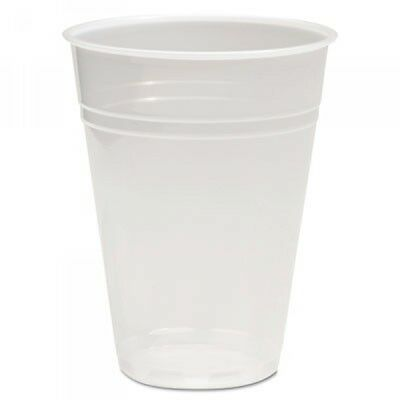 Boardwalk Translucent Plastic Hot/Cold Cups, 9oz, 2500 Cups (BWKTRANSCUP9CT)
