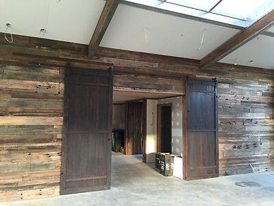 Feature Wall Cladding, DIY System - 'Run of the Mill' Recycled Timber Panels
