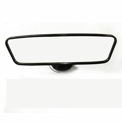 Universal 260mm Wide Flat Car Truck Mirror Interior Rear View Mirror Suction NEW