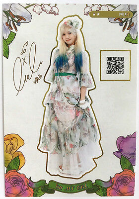 Oh My Girl 4th Mini Coloring Book Mimi Official Item Photocard 1pc Kpop