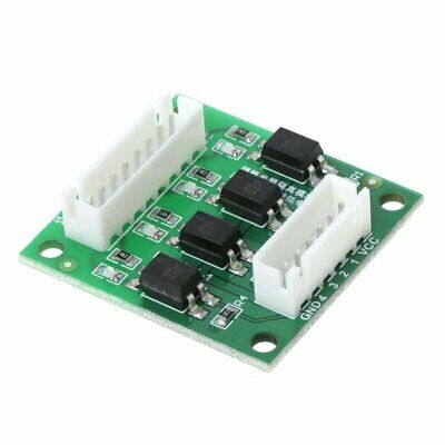 4 channel 12v/24v to 5v input optoisolator optocoupler for Arduino RPi ARM PIC