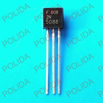 100PCS  Transistor FAIRCHILD TO-92 2N5088 2N5088BU 2N5088TA 2N5088TAR 2N5088TF