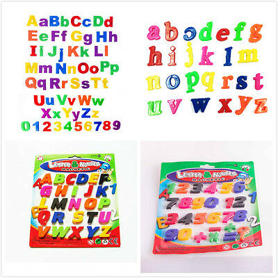 Fridge Magnetic Alphabet Letters A-Z And Or Numbers 0-9 Educational Toys