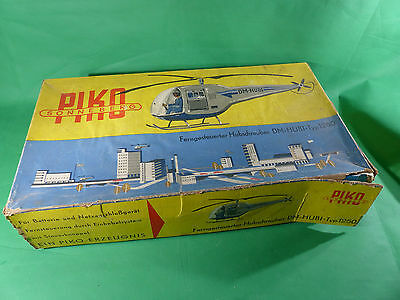 Piko Sonneberg Helikopter Spielzeug - DM-Hubi Typ 1250 in Box - Dachbodenfund
