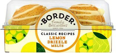 Border Biscuits - Lemon Drizzle Day (2x150g)