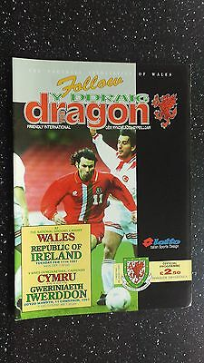 Wales V Republic Of Ireland 1996-97