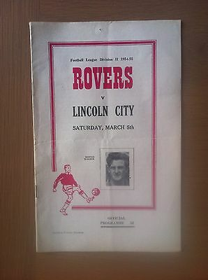 Doncaster Rovers V Lincoln City 1954-55