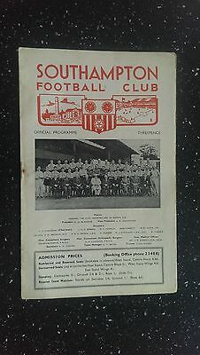 Southampton V Bournemouth & Boscombe Athletic 1957-58
