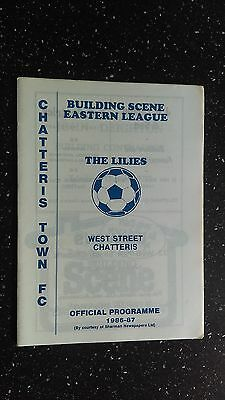 Chatteris Town V Harlow Town 1986-87