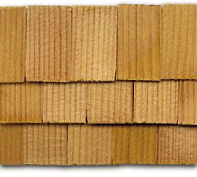 New Dolls House Miniature 1:12th Scale Roofing 500 Cedar Square Cut Shingles