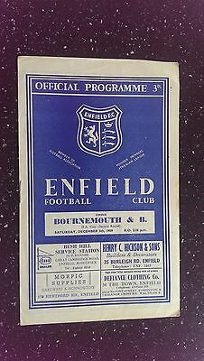 Enfield V Bournemouth & Boscombe Athletic 1959-60