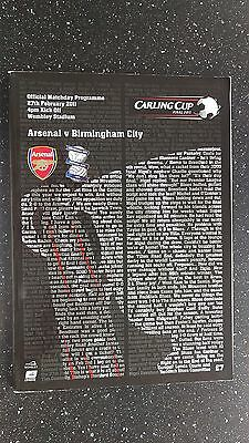Arsenal V Birmingham City 2010-11