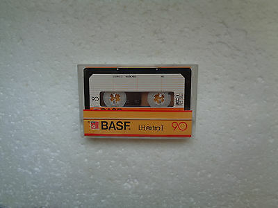 Vintage Audio Cassette BASF LH Extra I 90 * Rare From Germany 1984 * - Unsealed