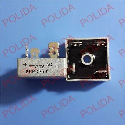 1Pcs Bridge Rectifier Sep/mic Kbpc-4 ( Dip-4 ) Kbpc2510