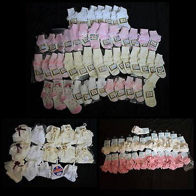 Baby Socks Job Lot 112 Pairs Blue Skies Kiddirama Country Kids High Quality
