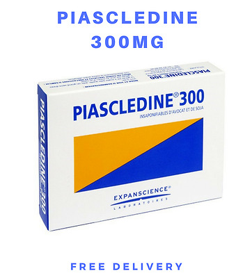 Piascledine 300mg Anti Rheumatic and Osteoporosis. 30 - 120 caps