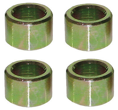 """Flat Steel Spacers 1/2"""" I.D. x .500 Thick - 4 Pack #1208"""