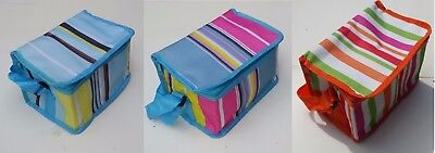 Insulated Childrens Kids Lunch Bags Cool Bag Picnic Bags School Lunchbox Cooler