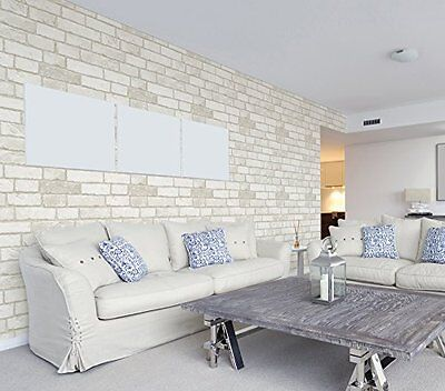 Vintage Brick Wall 3D Pattern Wallpaper Contact Peel-stick Prepasted New