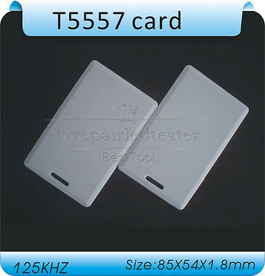 125Khz RFID Writable Cards T5577 Thick Rewrite Proximity Access Control Cards