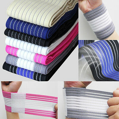 Weight Lifting Trainning Wrist Support Cotton Wraps GYM Bandage Straps Portector