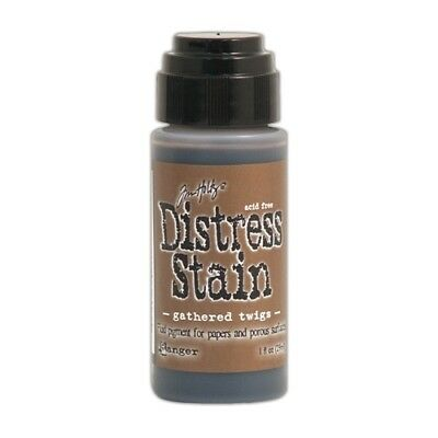 NEW Ranger, Tim Holtz Distress Stain, 1oz, Gathered Twigs