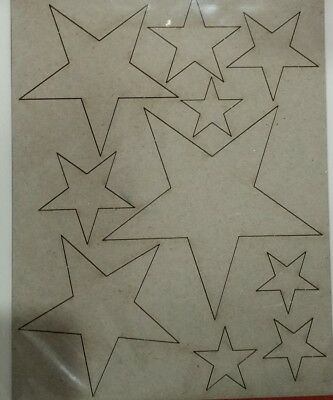 NEW Couture Creations, Stars Board, 129x100mm