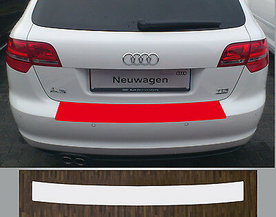 paint protective film boot sill transparent for Audi A3, Sportback, Built 08-12