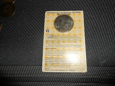 Nice Canada 1980 Olympic Trust Offcial Spots Coin Token/coins Still Sealed