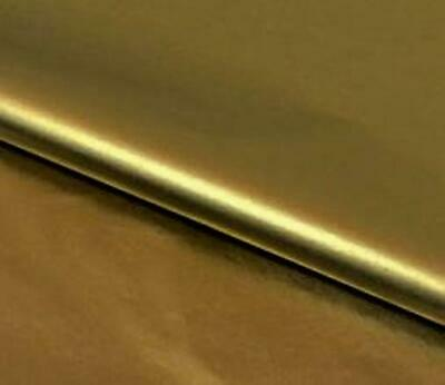 24 SHEETS-HEAVY GAUGE GOLD METALLIC-GLOSSY GIFT TISSUE PAPER 20X30 free ship