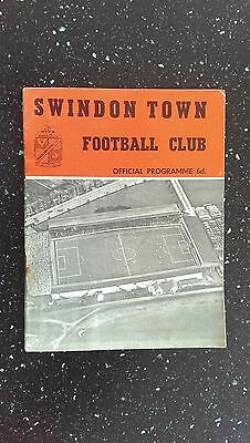 Swindon Town V All Star Xi 1962-63