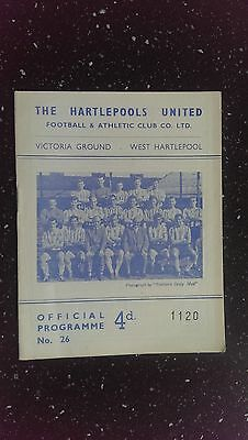 Hartlepools United V Doncaster Rovers 1963-64