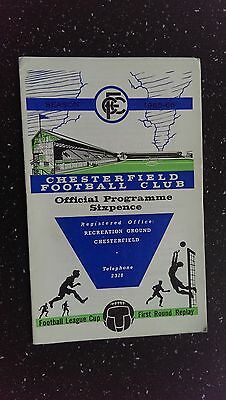 Chesterfield V Notts County 1965-66