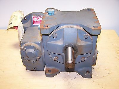 Grant 1200:1 Ratio Worm Gear Double Reduction Speed Reducer Gearbox Size 258 DBF