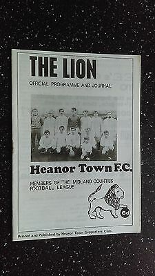 Heanor Town V Ilkeston Town 1968-69