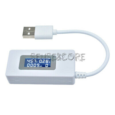 Mini LCD USB Charger Capacity power Current Voltage Detector Tester Meter