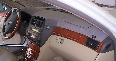 Cadillac CTS 2003-2007 Brushed Suede Dash Board Cover Mat Charcoal Grey