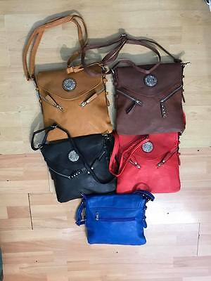 Wholesale Job Lot Ladies Women's bags Cross Body Bags Mix Styles Colours 10pcs