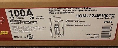 New Hom1224M100Pc Hom 12S100A Pon Load Ctr Sq D New