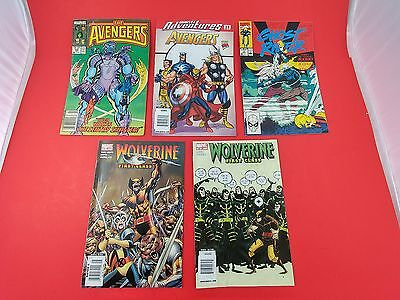 Bundle Marvel Comics - The Avengers # 288 - Wolverine First Class - Ghost Rider