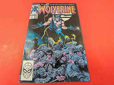 Wolverine #1 Nov 1988 1st Wolverine Ongoing Series! - Marvel Comic Book