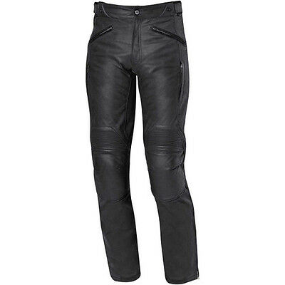 Black Motorcycle Motorbike Leather Trouser Ce Approved Protection